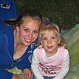 Erin with Megan